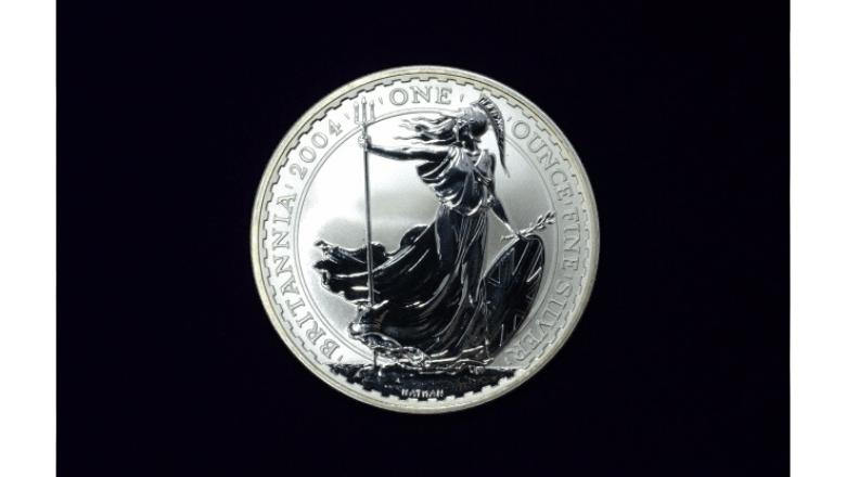 イギリスブリタニア銀貨