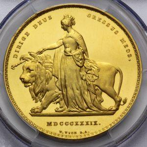 イギリスコイン_ウナとライオン